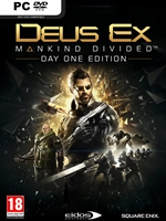 Deus Ex: Mankind Divided game cover