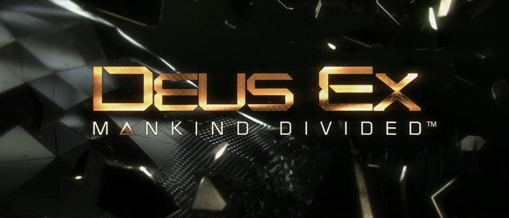 Game Deus Ex: Mankind Divided - website logo
