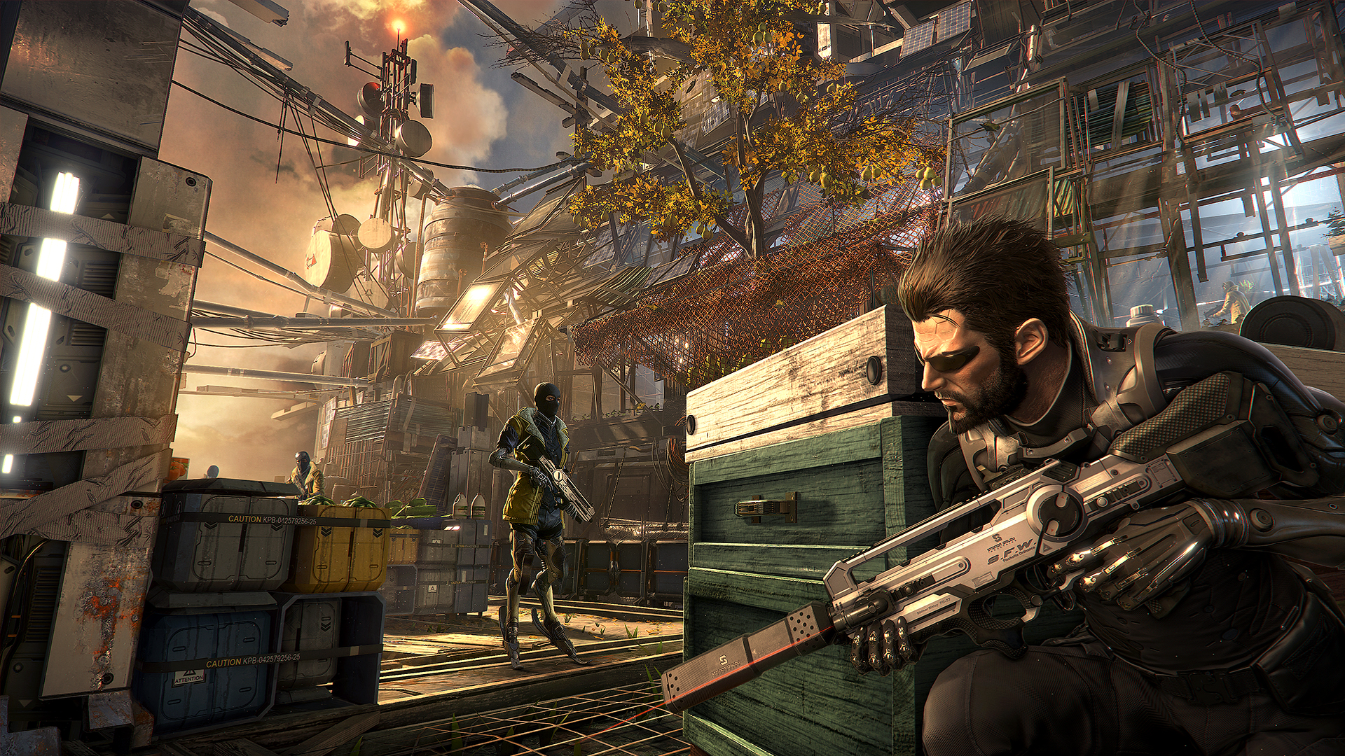 The game Deus Ex: Mankind Divided picture